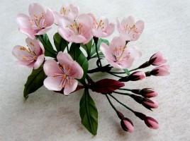 Cherry Blossom Corsage