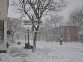 Nantucket Island in winter