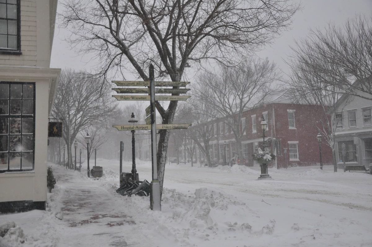 Nantucket In Winter Yesterdays Island Todays Nantucket