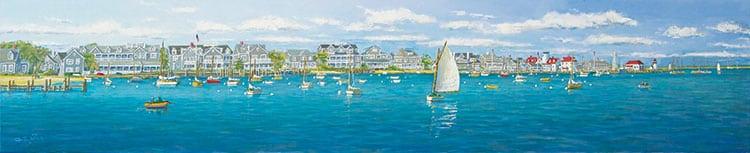Nantucket Harbor Panorama | G.S. Hill