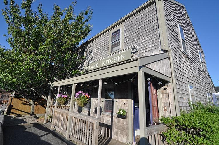 Island Kitchen Nantucket Lunch Menu