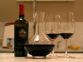 """""""Decanter and wine"""" by Daryn Nakhuda - originally posted to Flickr as Delicious Cabernet. Licensed under Creative Commons Attribution 2.0 via Wikimedia Commons - http://commons.wikimedia.org/wiki/File:Decanter_and_wine.jpg#mediaviewer/File:Decanter_and_wine.jpg"""