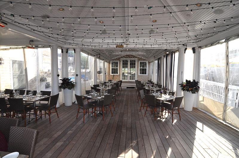 Breeze Bar + Cafe at The Nantucket Hotel | Nantucket, MA