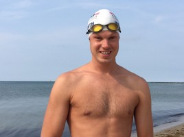 $25,000 Challenge Grant Will Support Grant Wentworth's Cape Cod to Nantucket Solo Swim Benefitting Island Cancer Care