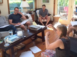 White Heron Theatre and Long Wharf Theatre collaborate on a reading of Samuel Hunter's new play on Nantucket.