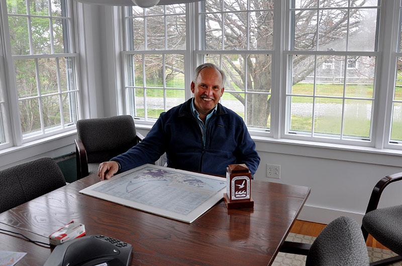 Jim Lentowski of the Nantucket Conservation Foundation