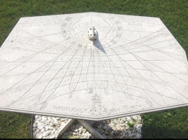 Sundial at Maria Mitchell Association | Nantucket