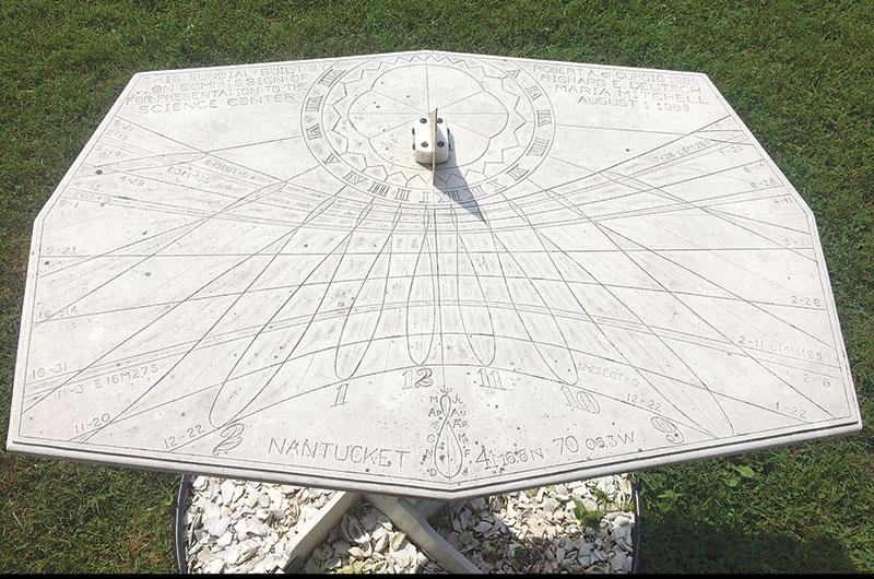 Sundial at Maria Mitchell Association | Nantucket