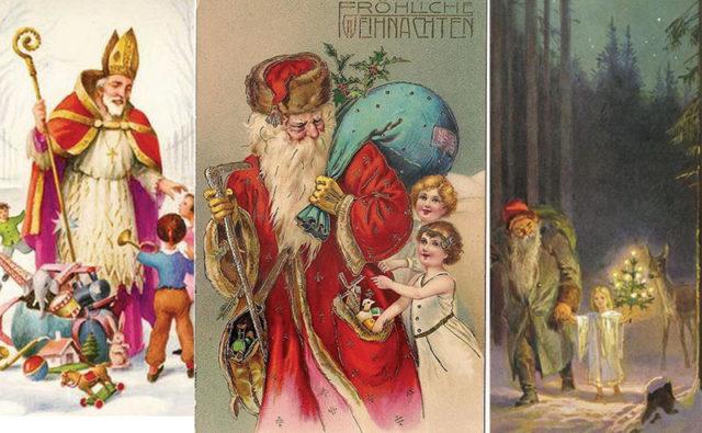 Antique German Santas