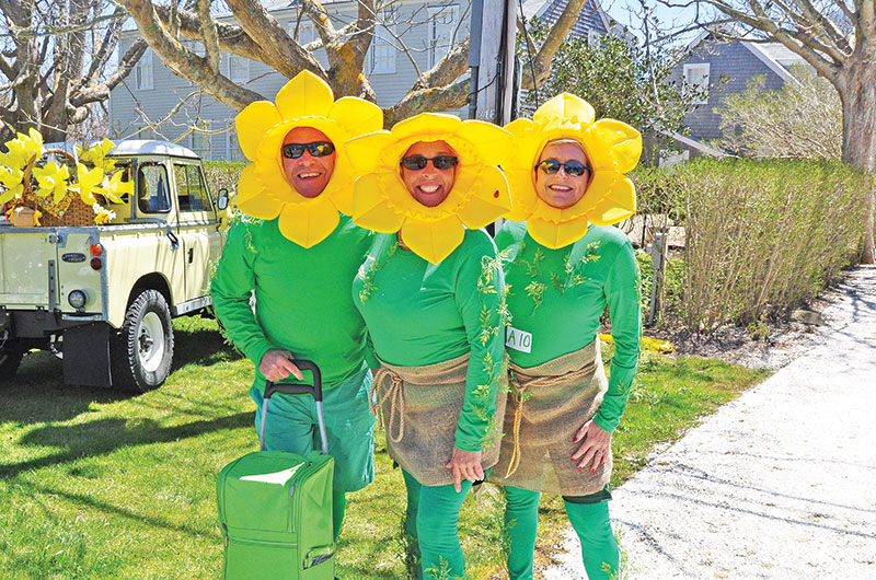 Nantucket Daffodil Festival - Daffy Hats