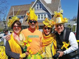 Nantucket Daffodil Festival - Daffy Hats