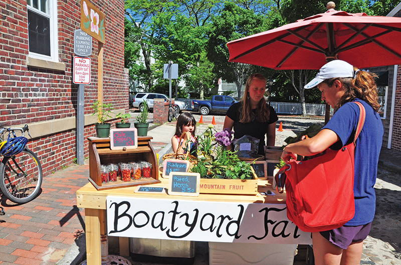 Sustainable Nantucket Farmer's & Artisans Market