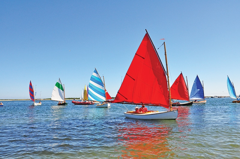 Rainbow Fleet Parade | Nantucket, MA