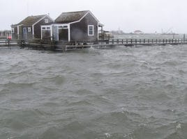 Flooding on Nantucket