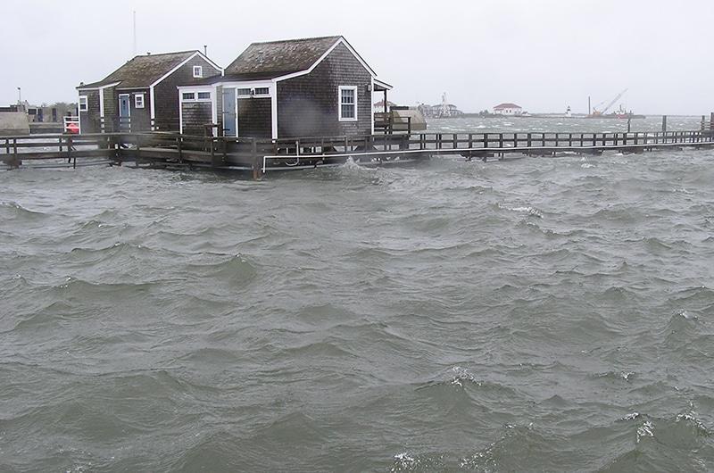 Flooding on Nantucket
