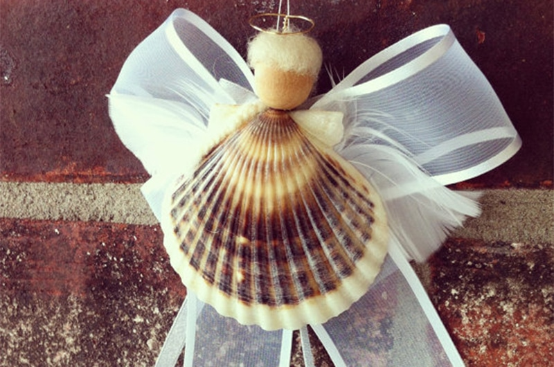 Scallop Shell Angel | Nantucket, MA