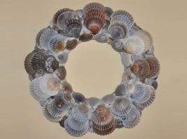 Scallop Shell Wreath | Nantucket, MA