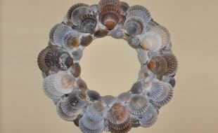 Scallop Shell Wreath | Nantucket, MA