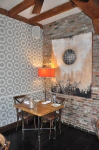 Proprietors bar + table | Nantucket, MA