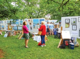 Sidewalk Art Show | Nantucket, MA