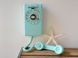 Aqua Wall Phone | Nantucket, MA