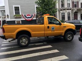 yellow truck | Nantucket, MA