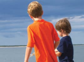 boys on beach | Nantucket, MA