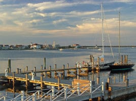 Michael Torrisi Harbor Stormy Sunset   Nantucket, MA