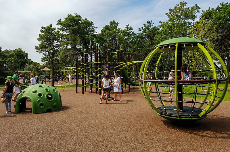 Discovery Playground at Hinsdale Park | Nantucket, MA