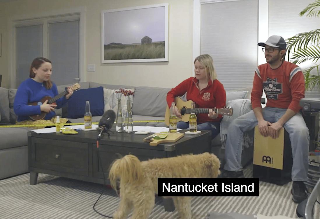 Nantucket Corona Song Challenge
