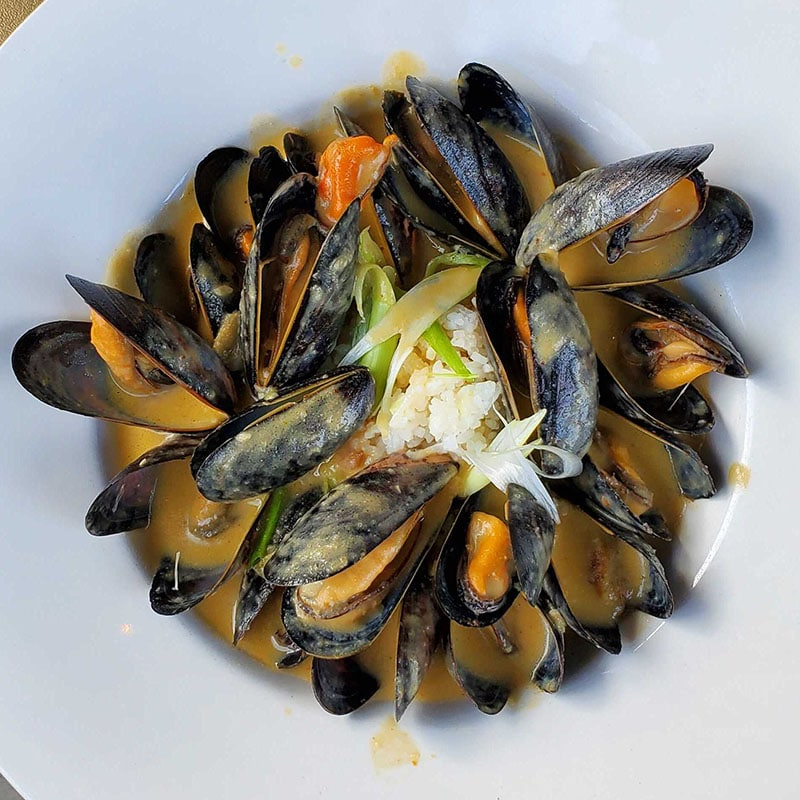 Fifty-Six Union - Curried Mussels