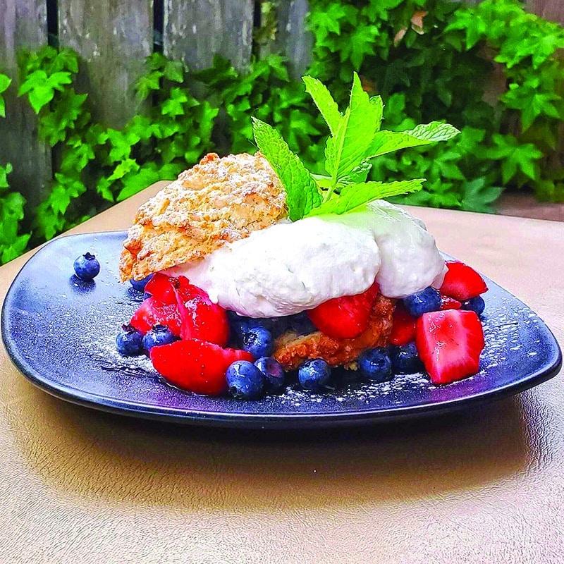 Fifty-Six Union - Strawberry and Blueberry Shortcake