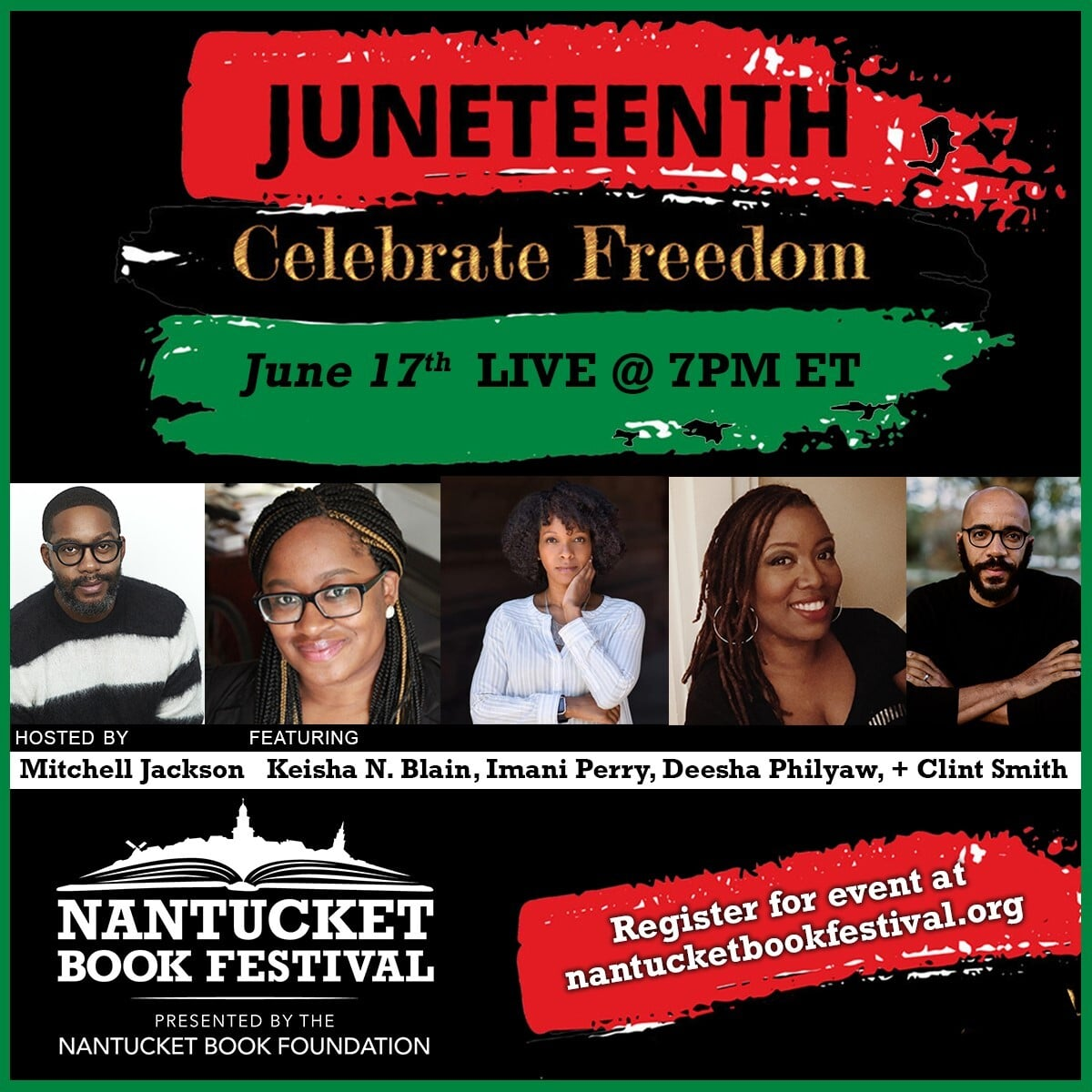 Nantucket Book Festival Juneteenth