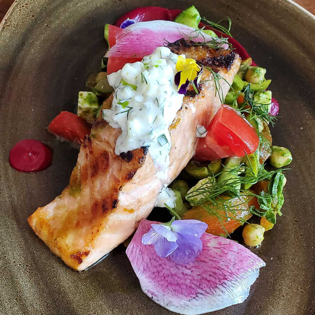 Dune - Grilled Wester Ross Salmon
