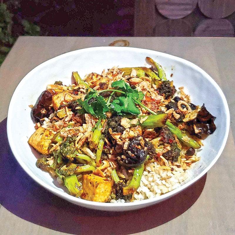 The Beet, Sichuan Broccoli & Tofu